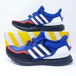 Adidas Ultraboost 2.0 Mens Sneakers Blue Red Black